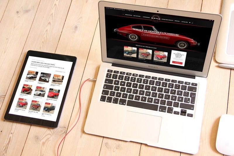 création site internet capots vintage - agence web lyon 3 Petits clics