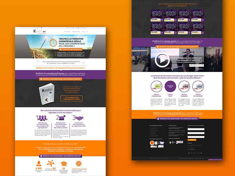 projet-portfolio-kestio-landing-page