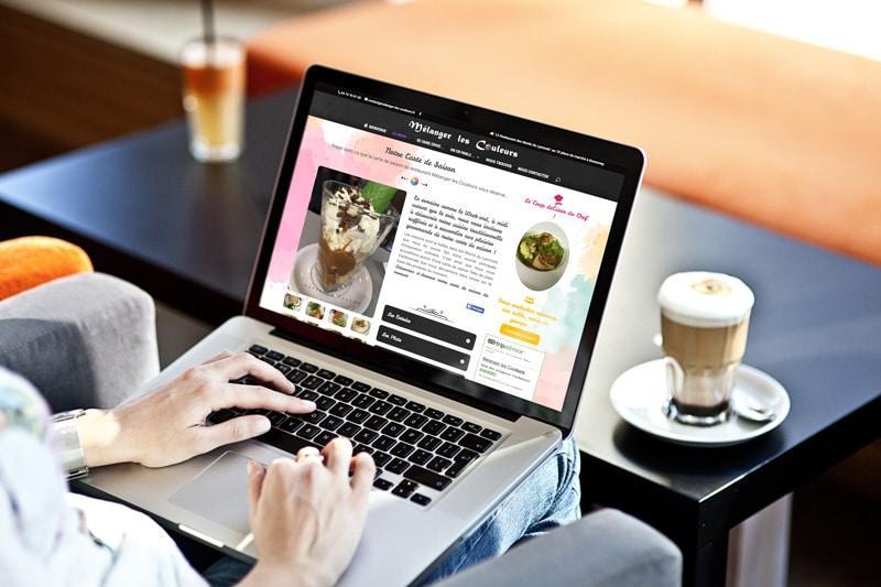 création site internet mélanger les couleurs - agence web lyon 3 Petits clics